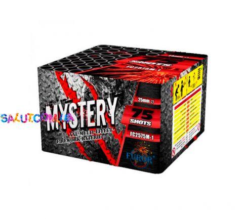 Фейерверк Mystery 75 зар. калибр 25 мм