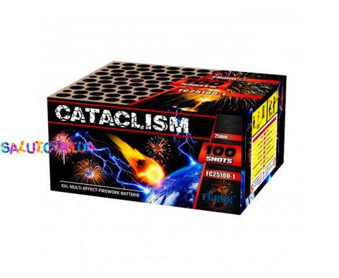 Салют Катаклизм (Cataclism) 100 зарядов калибр 25 мм