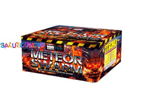 Салют Meteor Swarm 100 зар. калибр 20,25,30 мм