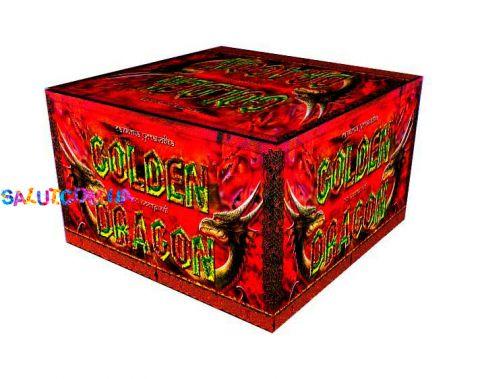 Салютная установка Золотой Дракон 100 залпов